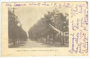 Main Street, East, Rock Hill, South Carolina, PU-1907