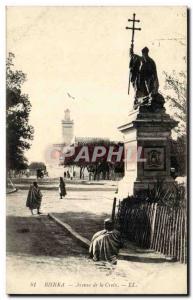 Algeria Biskra Constantine Old Postcard Avenue of the cross