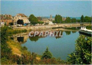 Modern Postcard Soissons (Aisne) Aisne The Edges
