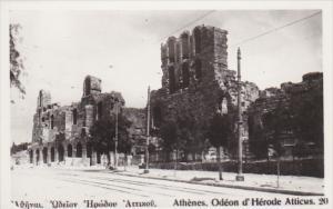 Greece Athens Odeon d'Herode Atticus Photo