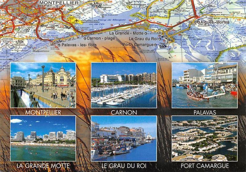 France Montpellier Multiviews Carnon Palavas Le Grau Du Roi Port