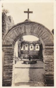 RP, MISSION SAN JUAN CAPISTRANO, Southern California, 1920-1940s; Archway