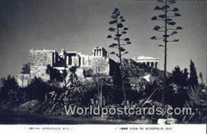 Greece Acropolis Athens Acropolis Printed Photo