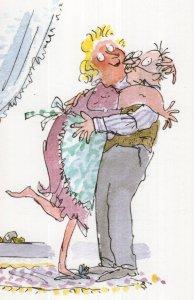 Roald Dahl Esio Trot Mrs Silver Please Marry Me Postcard