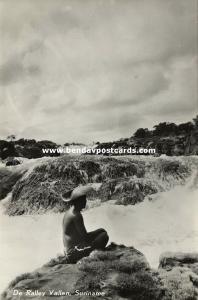 suriname, Raleighvallen, Ralley Falls (1950s) RPPC