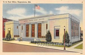 US Post Office Hagerstown MD Unused