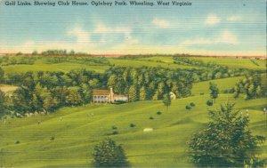 USA Golf Links Showing Clubhouse Oglebay Park Wheeling 04.27