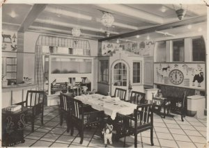 RP: Holland-America Line S.S.Statendam , 1930s ; Children's Playroom