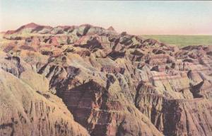 South Dakota Badlands Lost Trail Barrier The Badlands National Monument Alber...
