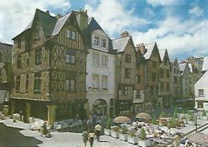 POSTAL 56045: TOURS. Place Plumereau
