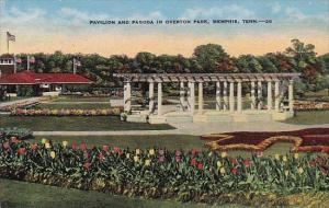 Pavilion and Pagoda In Overton Park Memphis Tennessee