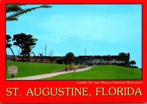 FLorida St Augustine Castillo De San Maarcos National Monument Firing Of The ...