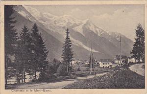 France Chamonix Mont Blanc