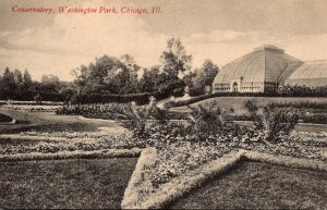 Illinois Chicago Washington Park Conservatory