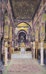 Interior, Cappella Palatina, Palermo (Sicily), Italy, 1910-1920s