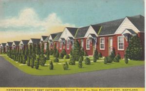 ELLICOTT CITY , MD , 30-40s ; Hardman's Beauty Rest Cottages