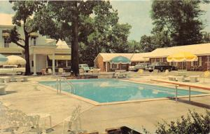 Nashville Tennessee~Maple Manor Motel & Restaurant~Swimming Pool~50s Cars