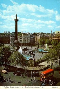 England London Trafalgar Square View From St Martin In The Fields 1973