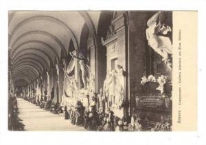 Camposanto- Galleria Inferiore Con Mon. Ghilino, Genova, Italy, 1900-1910s