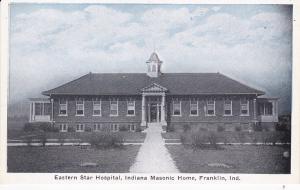 FRANKLIN, Indiana;  00-10s ; Eastern Star Hospital, Indiana Masonic Home