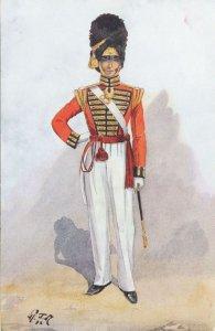 Grenadier Royal Foot Regiment 1826 Gale & Polden Uniform Postcard