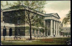 london, CHELSEA, Duke of Yorks School (ca. 1910)