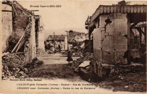 CPA Chassin pres DORMANS - Ruines (363853)