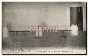 Old Postcard Loches The Dungeon Hall of Torture