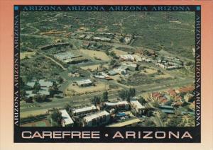 Arizona Carefree Aerial View