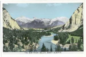 RP The Bow River Valley Banff Alberta Canada