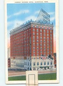 Linen HOTEL SCENE Nashville Tennessee TN B4091
