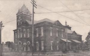 MONTAGNY , Quebec , Canada , 1909 ; Hotel de Ville