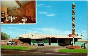 Roswell, New Mexico Postcard DANA'S COCKTAIL LOUNGE Bar Roadside c1960s Unused