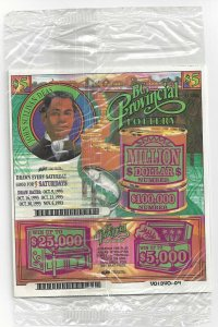BRITISH COLUMBIA, Canada, 1993; Provincial Lottery Tickets $5