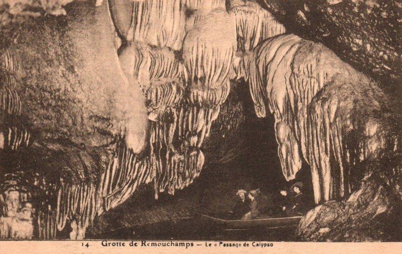 Le Passage de Calypso,Grotte de Remouchamps,Belgium BIN