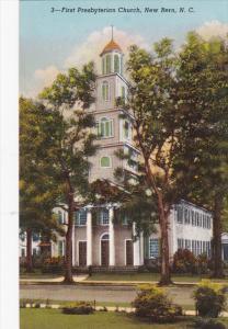 Firs Presbyterian Church, NEW BERN, North Carolina, 40-60's