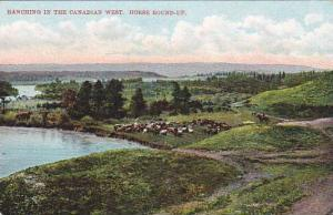 Ranching in the Canadian West, Horse Round-Up, 00-10s