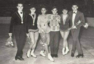 RP: Figure Skaters , Group , 1950-60s