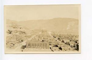 Butte MT Birds Eye View Looking East RPPC Real Photo Postcard