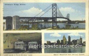 Ambassador Bridge Windsor UK, England, Great Britain 1946 Missing Stamp