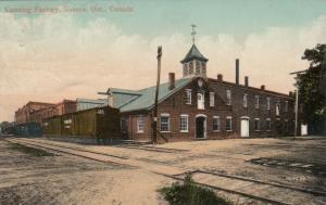 SIMCOE , Ontario , Canada , 1911 ;Canning Factory