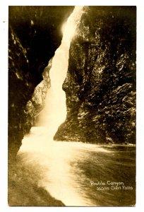 VT - Profile Canyon, Moss Glen Falls   *RPPC