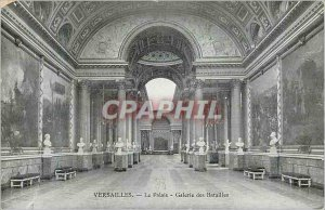 Postcard Old Versailles Palace Gallery of Battles