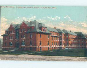 Divided Back SCHOOL SCENE Bridgewater Massachusetts MA J8703