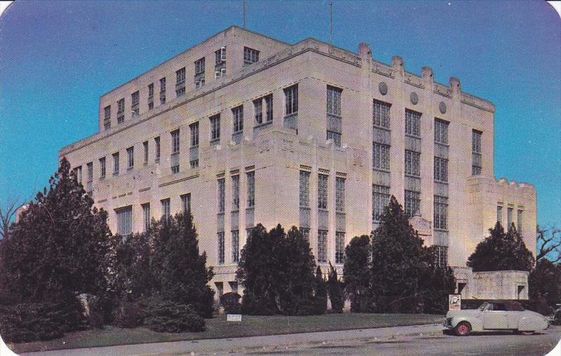 Exterior, Travis County Courthouse at Austin, Texas, 40-60s