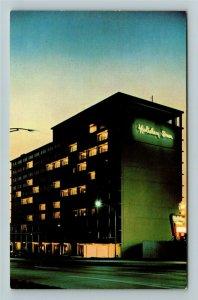 Cincinnati OH- Ohio, Holiday Inn, Advertising, Chrome Postcard