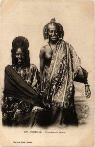 CPA AK 229 Femmes de Oualo ed. Fortier SENEGAL (a2261)