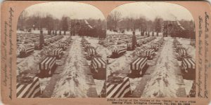 SV: ARLINGTON , Virginia 1899 ; Burial of the Victims of the Maine
