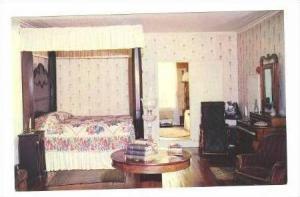 Master Bedroom, FORT HILL, Clemson, South Carolina, 40-60s
