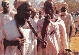 Nigeria Slangen en schorpioenen bezweerders tijdens een feest te Kano
